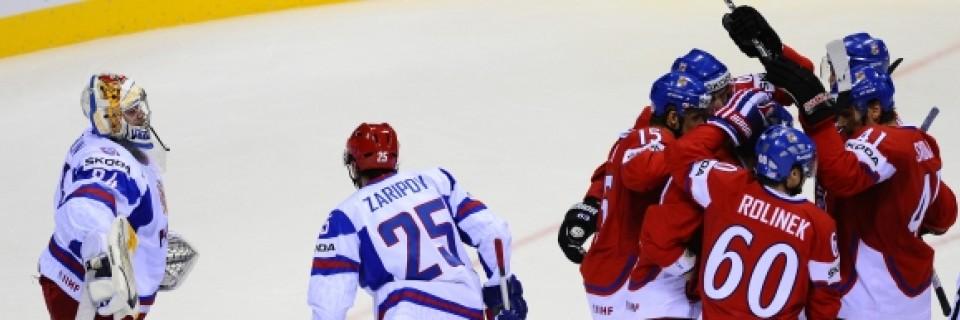 Česko vs Rusko - hokej