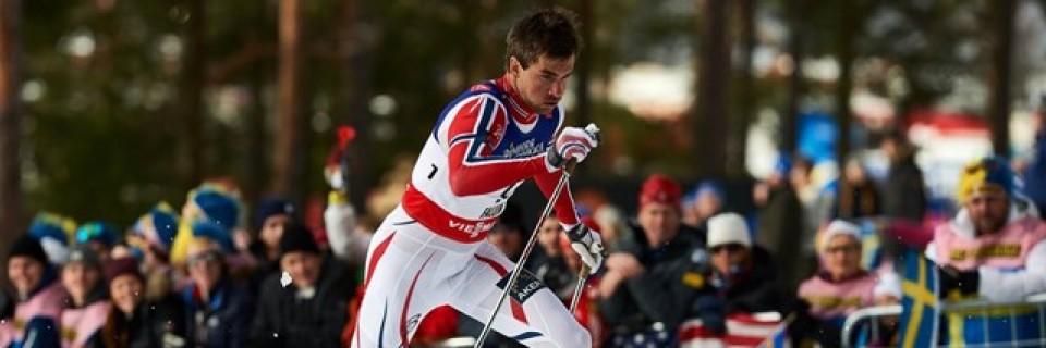 Norský běžec na lyžích Tomas Northug