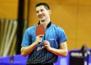 Stolní tenistka Tomáš Konečný