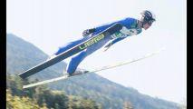 Český skokan na lyžích Tomáš Vančura