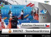 Kateřina Chourová slaví bronz na Univerziádě v Almaty 2017