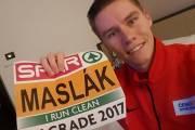 Český běžec Pavel Maslák na HME 2017