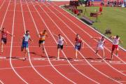 Záběry ze závodu na 100m vícebojařů na ME 2016 v Amsterdamu