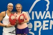 Kateřina Siniaková a Lucie Hradecká dosáhly na finále na Taiwan Open 2017