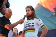 Peter Sagan vyhrál první etapu