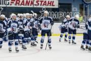 Plzenští hokejisté se radují z výhry