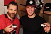 Jaromír Jágr a Mark Jankowski slaví své první trefy v dresu Calgary