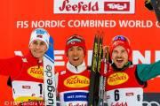Páteční stupně vítězů Seefeld Triple