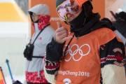 Kanadský slopestylař Mark McMorris na ZOH 2018