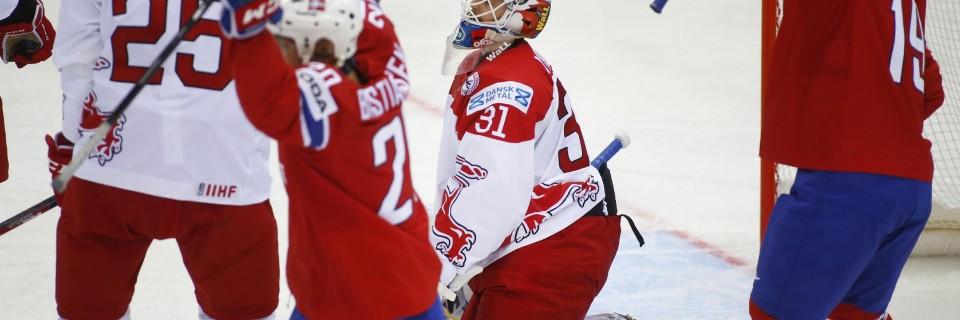 Zápas Norsko - Dánsko
