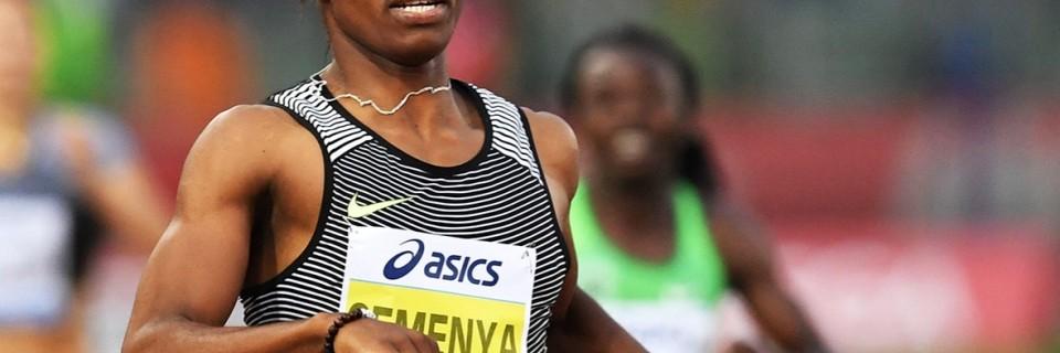 Jihoafrická běžkyně Caster Semenya