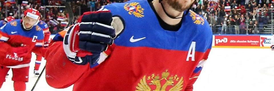 Ruský hokejista Mozyakin