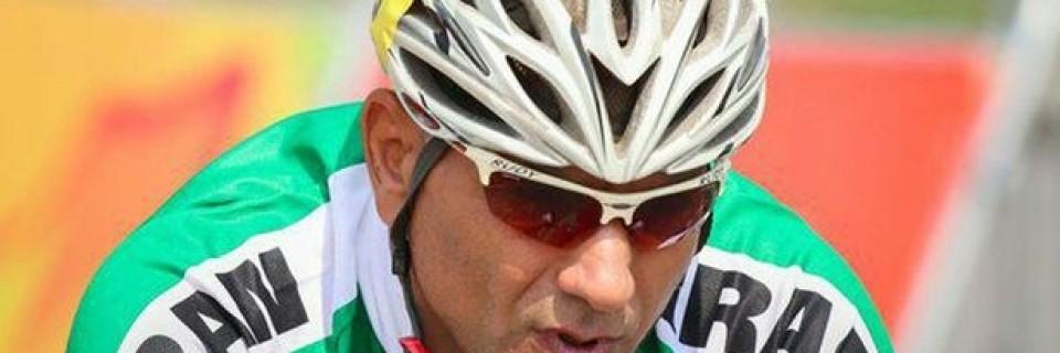 Íránský paralympijský cyklista Bahman Golbarnezhad