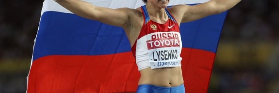 Rusko, Atletika, Doping, Lysenko