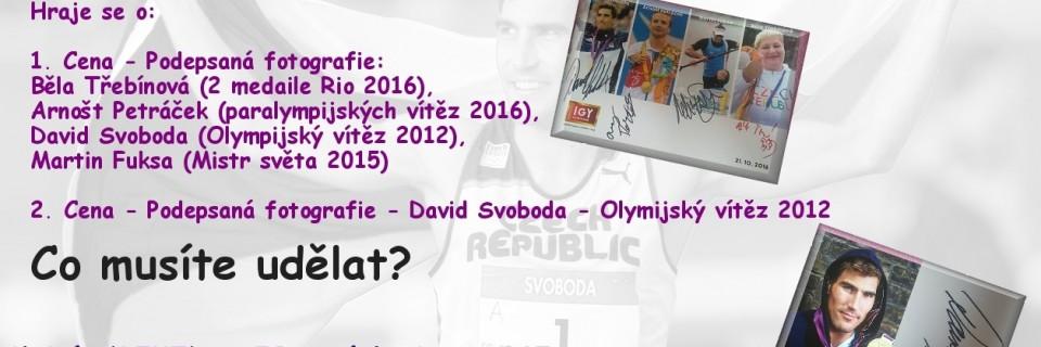 Soutěž o podepsané karty českých olympioniků