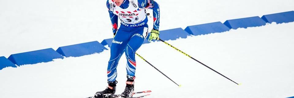 Český biatlonista Michal Krčmář
