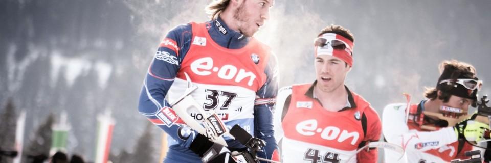 Český biatlonista Jaroslav Soukup