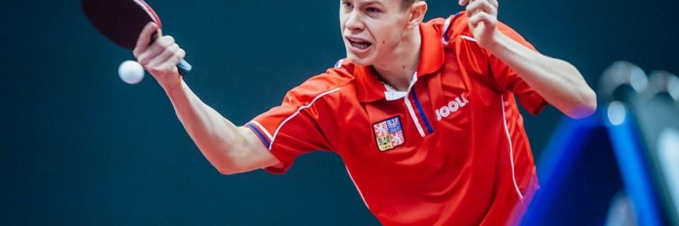 Český stolní tenista Tomáš Polanský
