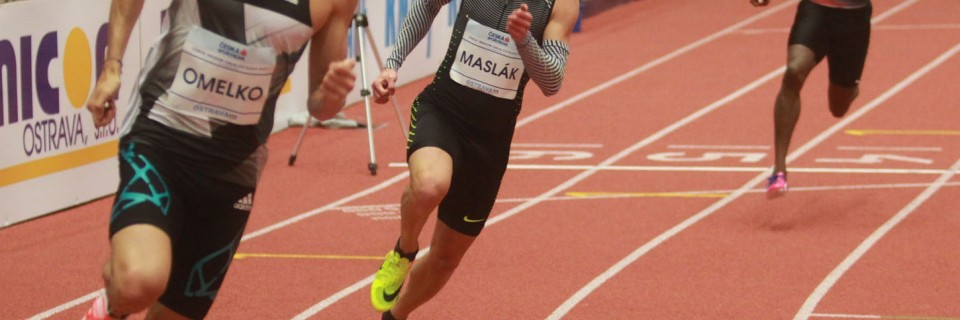 Pavel Maslák na Czech Indoor Gala 2017