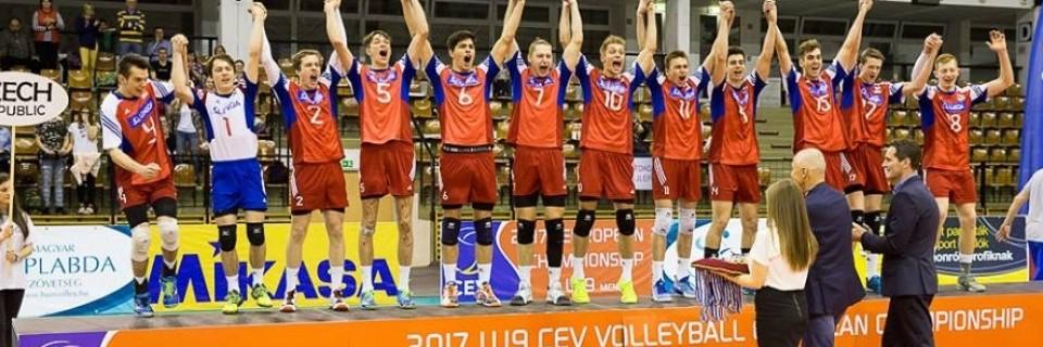Čeští volejbalisté získali titul mistrů Evropy v kategorii do 19 let