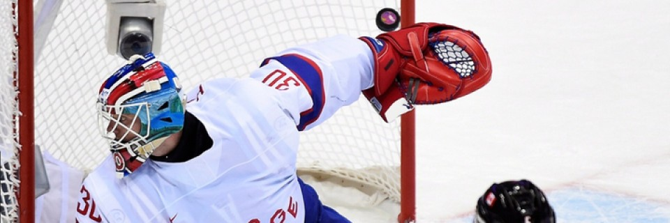 Hokejový zápas Norsko - Kanada