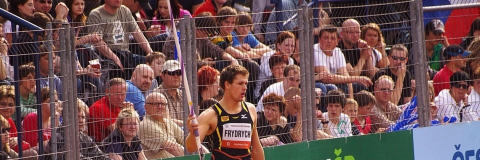 Český oštěpař Petr Frydrych