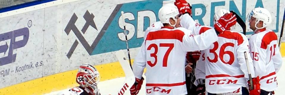 HC Dynamo Pardubice porazily Jekatěrinburg