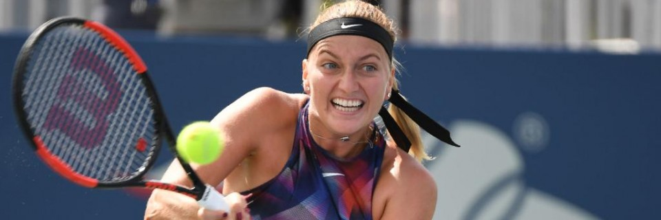 Kvitová na prvním dni US Open