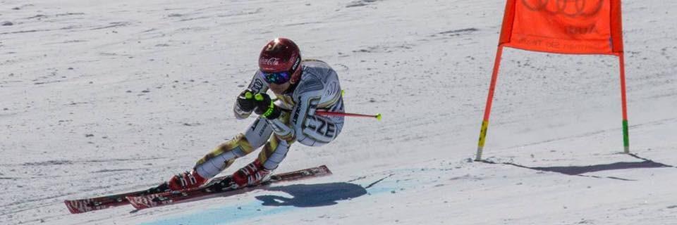 Česká lyžařka a snowboardistka Ester Ledecká
