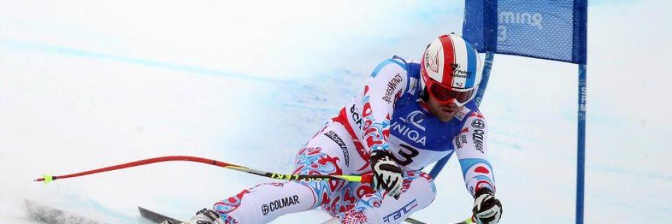 Francouzský lyžař David Poisson