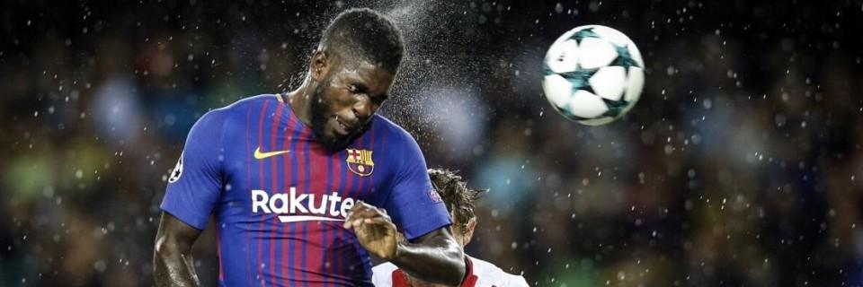 Samuel Umtiti v dresu FC Barcelona