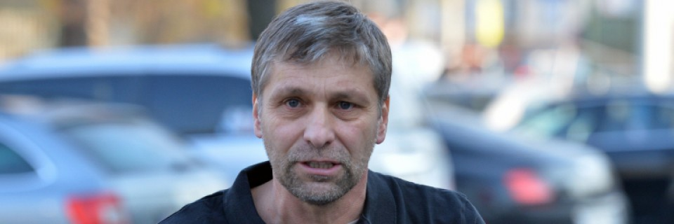 Trenér české reprezentace Josef Jandač