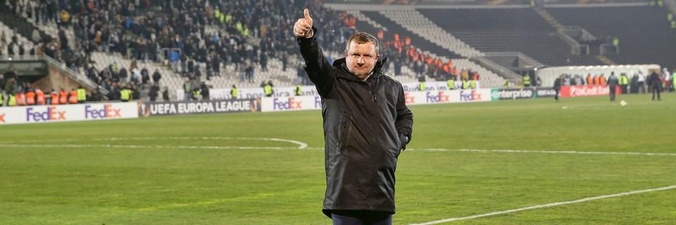 Spokojený Pavel Vrba