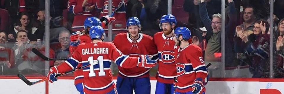 Hokejisté týmu Montreal Canadiens