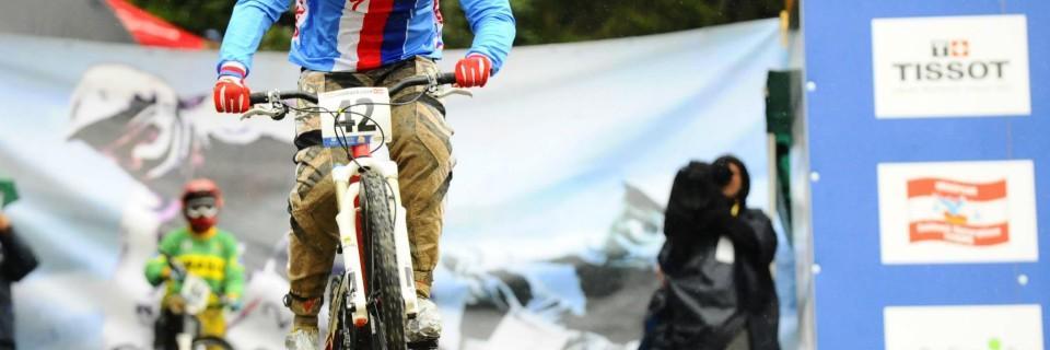 Česká závodnice BMX Romana Labounková